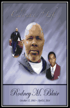 In Memory of Rodney Blair