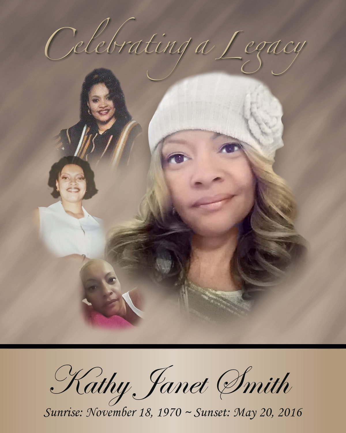 In Loving Memory of Kathy Janet Smith