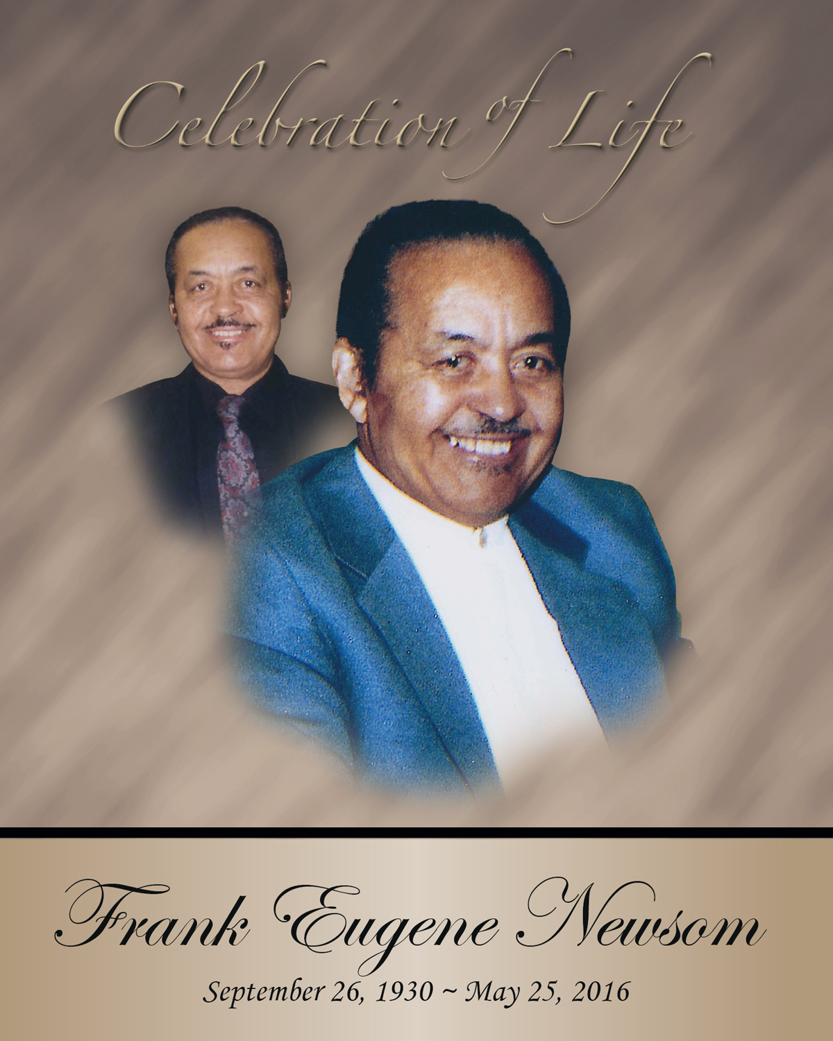 In Loving Memory of Frank Eugene Newsom