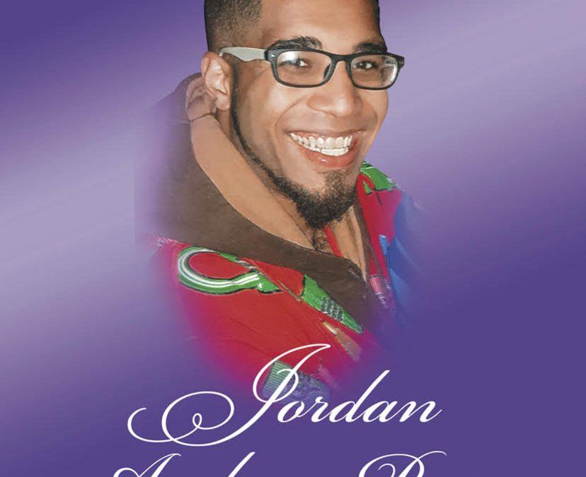 In Loving Memory of Jordan Andrew Perry